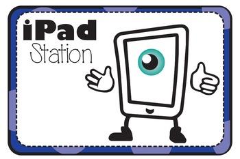 iPad Work Station Blurb