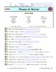 """Phases of Matter - iPad  Worksheet, Ans, and 2 Quizzes For """"Bill Nye** """" Video"""