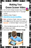 iPad and DoInk(TM) Green Screen Instruction Handout - Edit