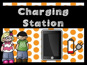 iPad and Tablet Charging Station Signs