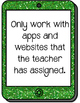 iPad and Tablet Rules Posters
