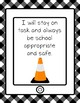 iPad and Tablet Rules Posters FARMHOUSE