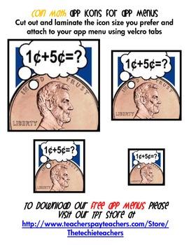 iPad & iPod App Activity Packet: Coin Math