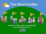 iPad iPod iPhone Five Word Familes