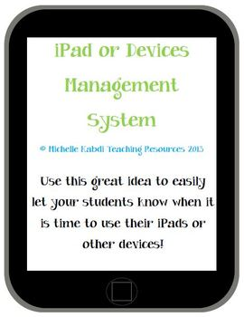 iPad or Devices Management System