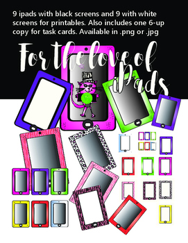 iPad printable clip art  - For the Love of iPads