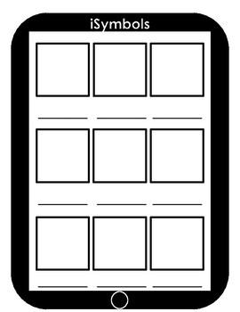 iPad symbols