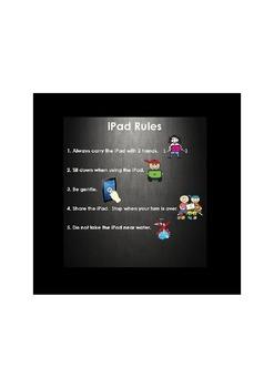 iPad use Rules Image