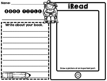 iPad/iPhone/iPod Student Response Sheets for Reading and Math