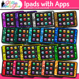 iPad Clip Art | Rainbow Tablet Devices for Technology Lessons and Computer Lab 2