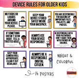 iPad & Device Rule Posters for Big Kids | To Teach Digital