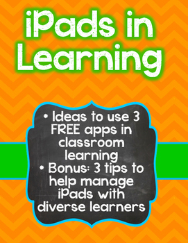 iPads in Learning (and 3 BONUS Tips!)