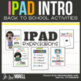 iPAD INTRODUCTION: BACK TO SCHOOL ACTIVITIES