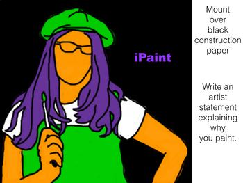 iPaint ~ Graphic Design Art Project