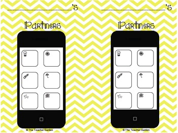 iPartners Bundle: 10 Modern Buddy Systems for the Classroom
