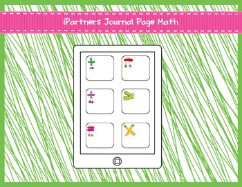 iPartners Journal Pages Math