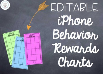 iPhone Behavior Reward Charts