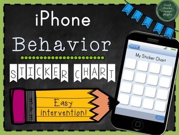 Behavior Sticker Chart (iPhone Edition)