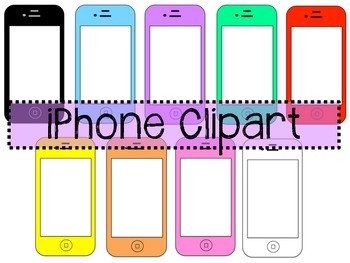 iPhone Clipart - Smartphone Clipart