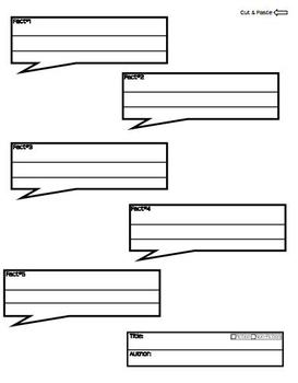 Blank iPhone Template (Interactive Notebook) Writing Templates