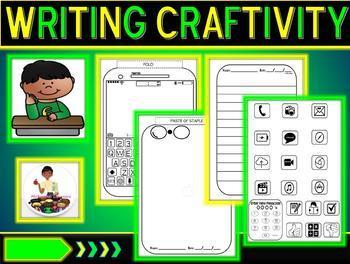 iPhone Craftivity & Template