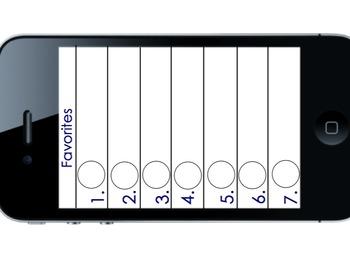 iPhone Favorite Partners- Alternative to clock partners!