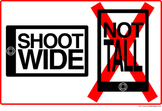 iPhone Filmmaking Poster: Shoot WIDE not TALL