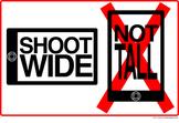 iPhone Filmmaking Poster: Shoot WIDE not TALL