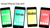 iPhone Inspired Smart Phone Clipart!