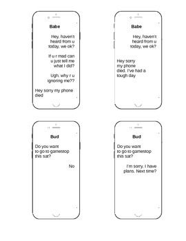 iPhone Lesson for Perspective Taking and Inferencing