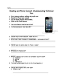 iPhone Manual Technical Text Search