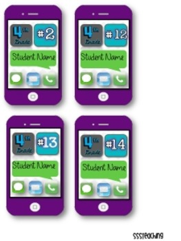 Editable iPhone Name Tags and Rosters