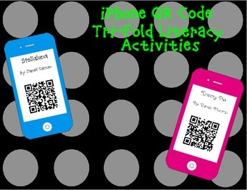 iPhone QR Code Tri-Folds -16 Online Stories and story element questions