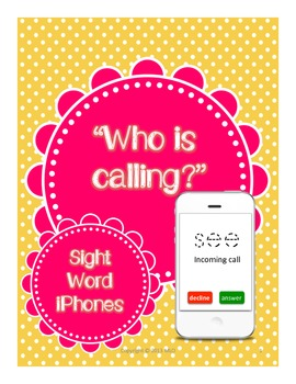 iPhone Sight Words