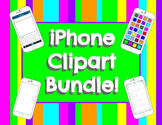 iPhone & Social Media Clipart Bundle!