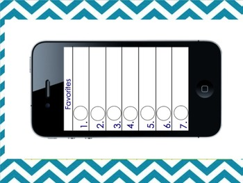 iPhone Speed Dial Partners- Fun Alternative to Clock Partners!