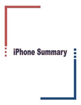 iPhone Summary