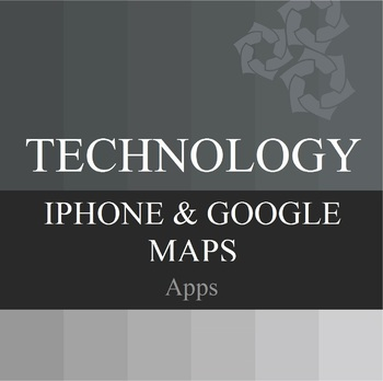 iPhone and Google Map Apps PowerPoint