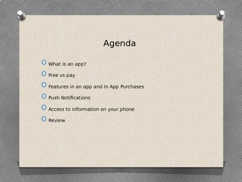 iPhone and iPad App Introduction PowerPoint