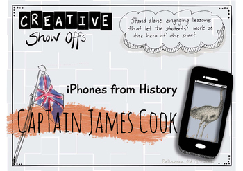 Captain James Cook - iPhones From History