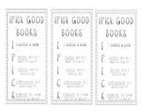iPick Good Books Bookmarks