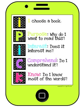 iPick Reading Posters (iPad Style)