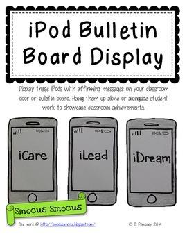 iPod Bulletin Board Display