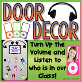iPod Door/Bulletin Board Decor {FREE!}