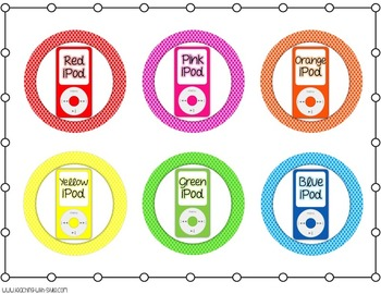 iPod Organization Labels