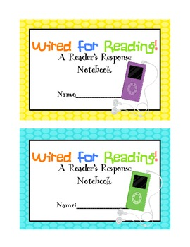iPod Reading Response Journal Label