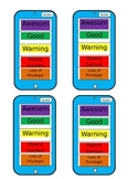 iPod Student Behavior Self Monitor