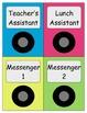 iPod Style Classroom Jobs