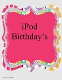 iPod Themed Birthdays