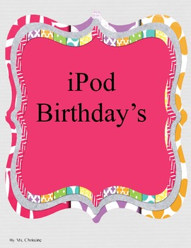 iPod Themed Birthdays
